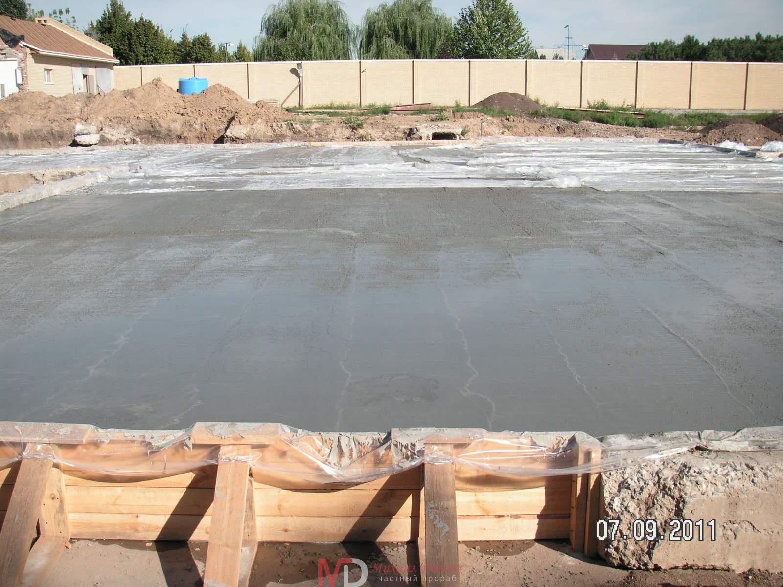 Прораб бетон пластификатор в цементном растворе